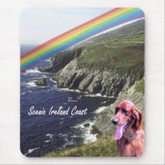 Coastal View Beautiful Scenic Ireland Mouse Pad