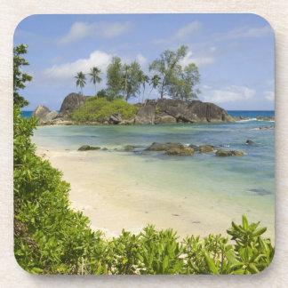 Coastal view on Mahe Island Coasters