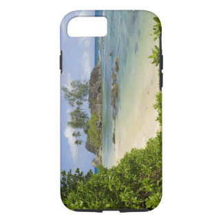 Coastal view on Mahe Island iPhone 8/7 Case