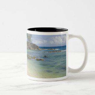 Coastal view on Mahe Island Coffee Mug