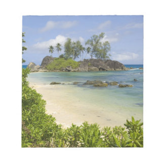 Coastal view on Mahe Island Notepad