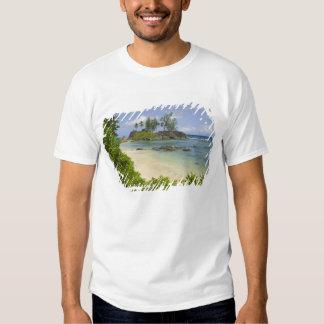 Coastal view on Mahe Island T-shirts