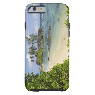 Coastal view on Mahe Island Tough iPhone 6 Case