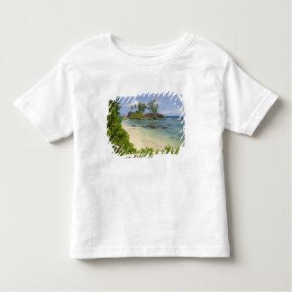 Coastal view on Mahe Island Tshirts