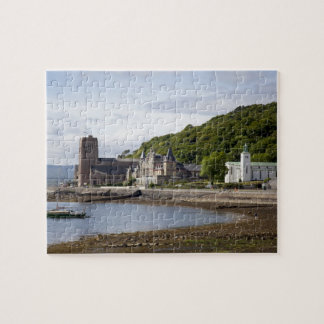 Coastal view with historic buildings, Oban, Jigsaw Puzzle