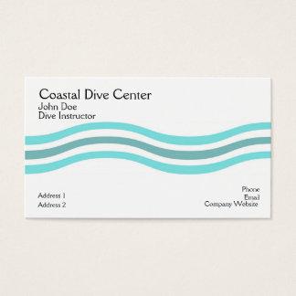 Coastal Waves Business Card