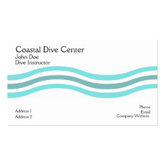 Coastal Waves Business Cards