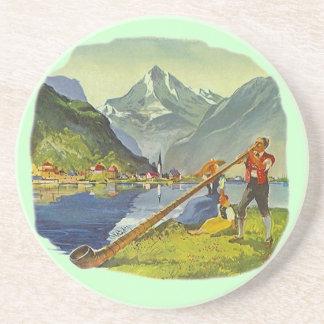 Coaster AlpHorn alpenhorn Alpine Long horn