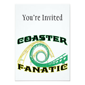 Coaster Fanatic Card
