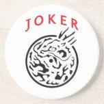 Coaster in Mah Jong Joker Tile