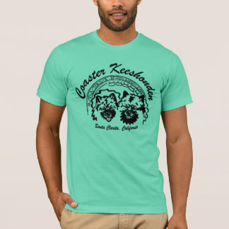 coaster keeshonden T-Shirt