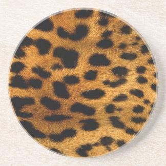 Coaster: Leopard Skin Design Coaster