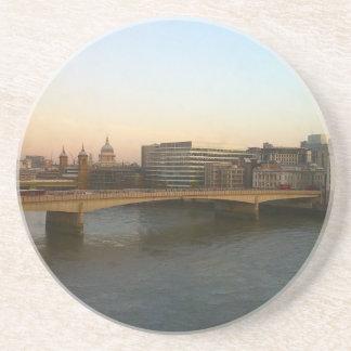 Coaster: London Bridge at Dawn Sandstone Coaster