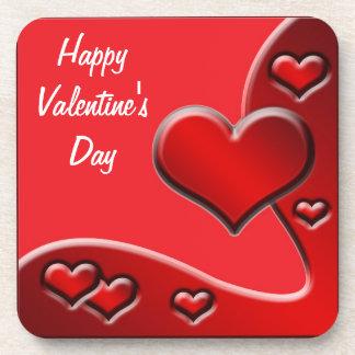 Coaster Love Hearts