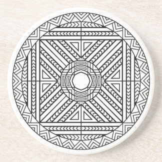 Coaster Mandala Abstract Geometric