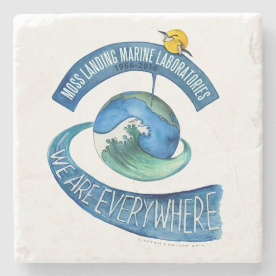 Coaster (Marble Stone): We Are Everywhere Stone Coaster