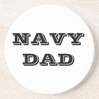 Coaster Navy Dad