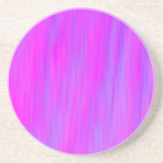 Coaster. Pink and Blue wind design. Coaster