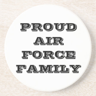 Coaster Proud Air Force Family