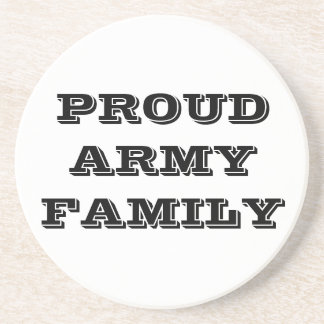 Coaster Proud Army Family