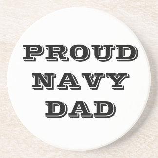 Coaster Proud Navy Dad