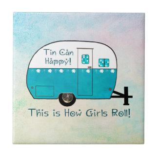 COASTER | Retro Camper | Tile | Personalize It!