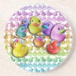Coaster - RUBBER DUCKY - DUCKIES POP ART
