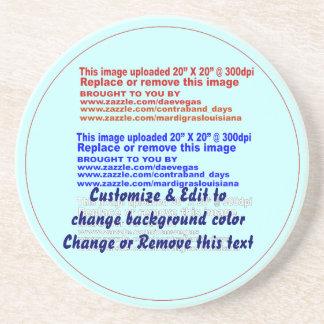Coaster Sandstone Dia: 4.25 inches Depth: .25 inch