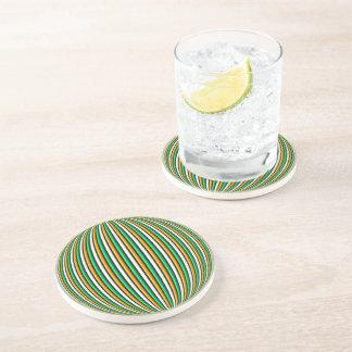 Coaster - Sandstone - Irish Stripes