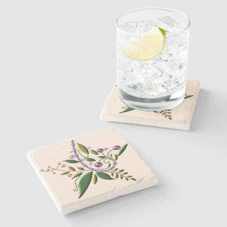 Coaster - Stone - Tuscan Star of Christmas Stone Beverage Coaster