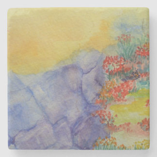 Coaster-watercolor Stone Coaster