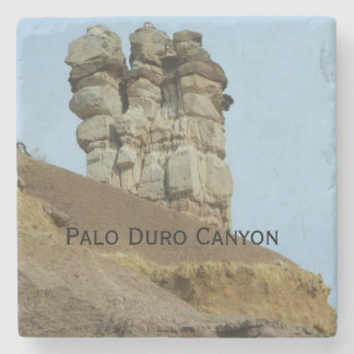 Coaster with image of Palo Duro Canyon