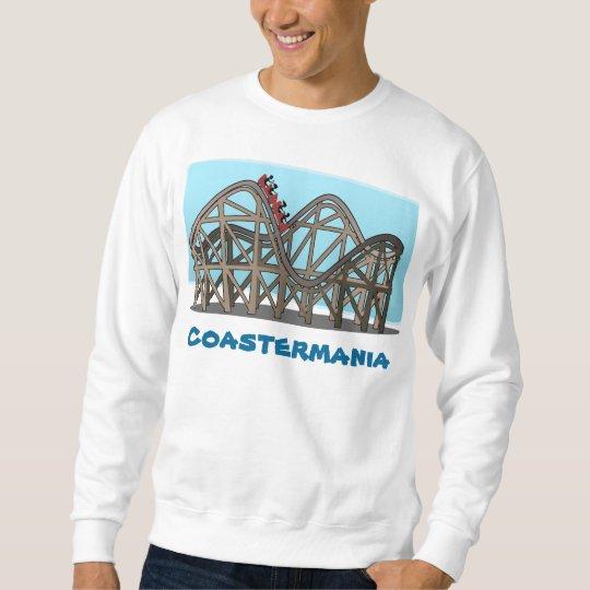 """Coastermania"" - Men's sweatshirt - Medium"