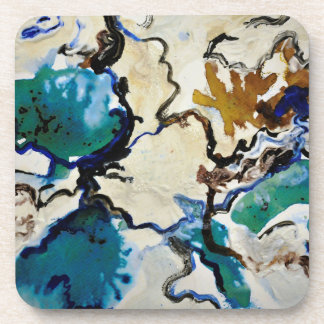 Coasters -  Blue Lagoon Design