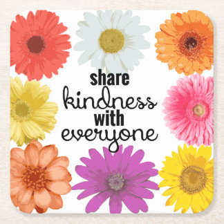 Coasters - Share Kindness with Everyone