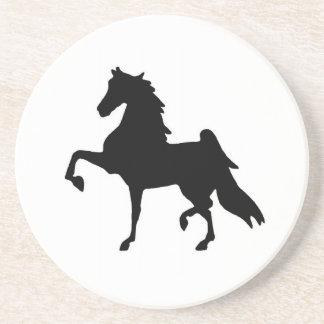 Coasters with Saddlebred Horse