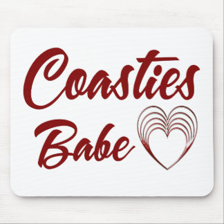 Coasties Babe Mouse Pad