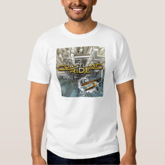 Coastland Ride - On Top Of The World CD cover Tshirt