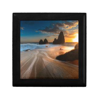 Coastline At Sunset   Northern California Gift Box