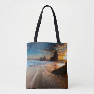 Coastline At Sunset | Northern California Tote Bag