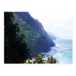 coastline in kauai postcard