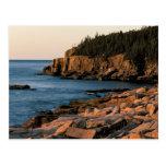 Coastline of Acadia National Park , Maine