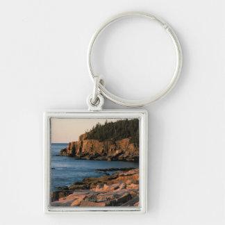 Coastline of Acadia National Park , Maine Key Ring