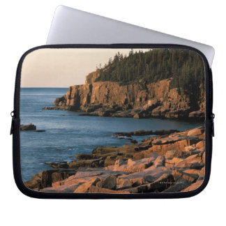 Coastline of Acadia National Park , Maine Laptop Sleeve