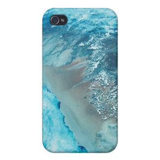 Coastline on Earth Cover For iPhone 4