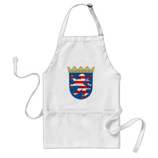 Coat arms Hesse Official Heraldry Symbol Germany Adult Apron