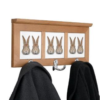 Coat hanger of rabbit, No.02 Coat Rack