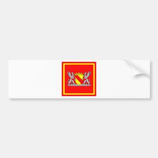 Coat of arms bathing president bumper sticker