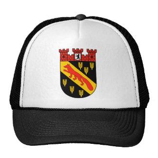 Coat of arms Berlin Reinickendorf Hats