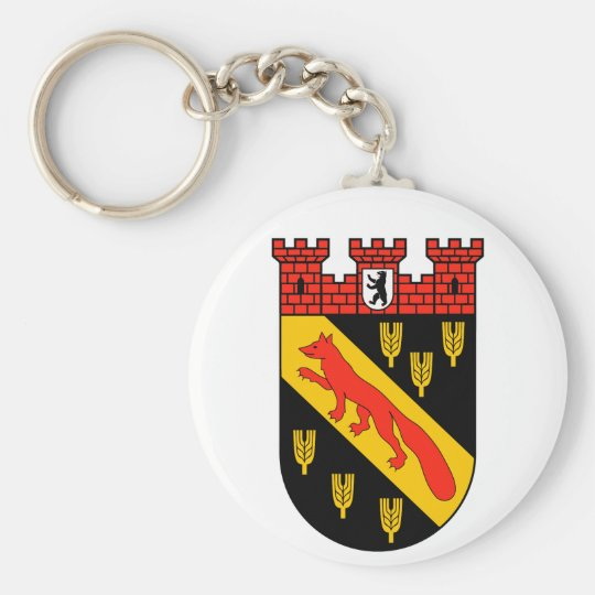 Coat of arms Berlin Reinickendorf Key Ring